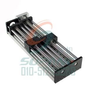 GGP8080直线滑台滚珠丝杆电动滑台导轨十字滑台模组配57步进电机
