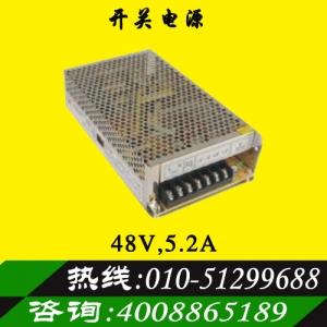 正品明纬48V5.2A开关电源步进驱动器专用电源